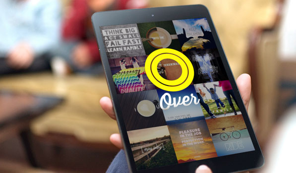 Add Crispy Typography to your Photos with Over