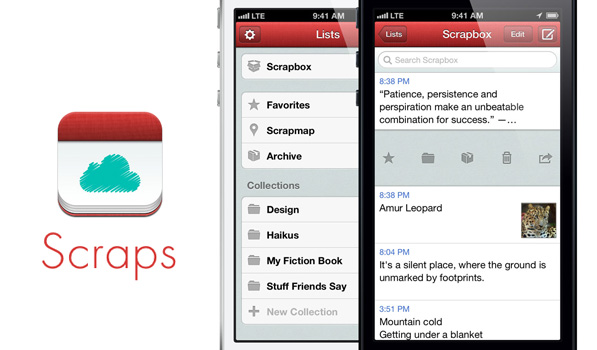 Scraps Helps You Quickly Note Down Your Thoughts