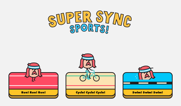 Super Sync Sports • Beautiful Pixels