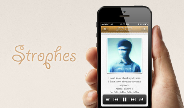 Strophes for iPhone