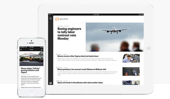 The Reuters iOS App