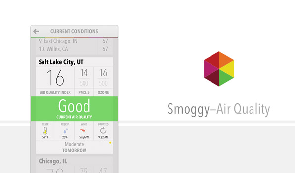 Smoggy — Air Quality Index App