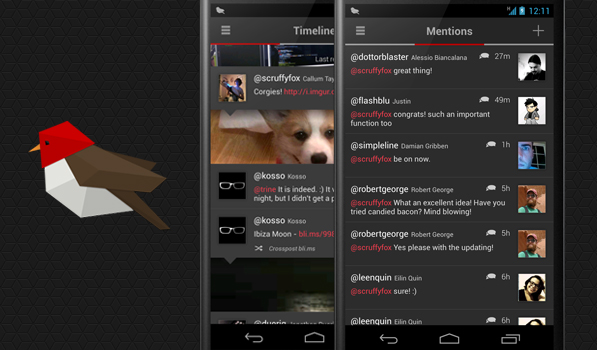 Robin Is a Feature Rich App.net Client for Android