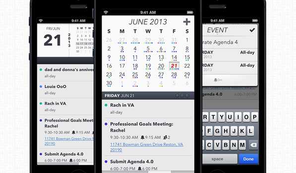 Agenda Calendar 4.0 Is a Slick Addition to Your iPhone Workflow