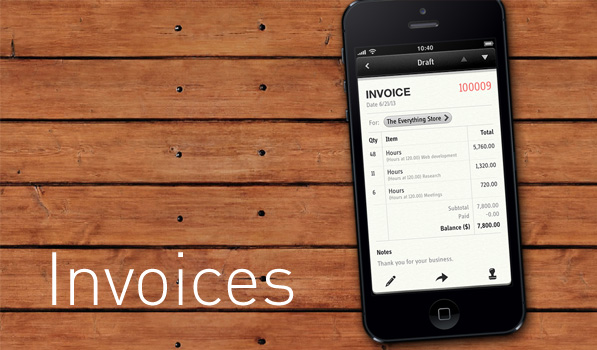 Invoices On Your iPhone