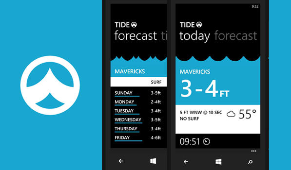 Tide Is an Awesome Surfing Forecast App for Windows Phone