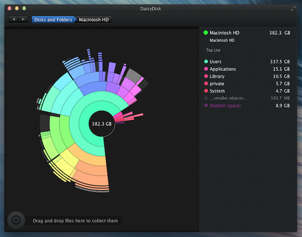 DaisyDisk 3 makes Disk Analysis Simple and Fun