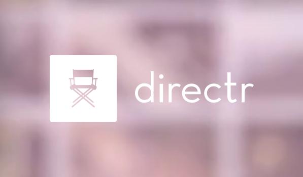 Directr — Movies as Simple as Photos