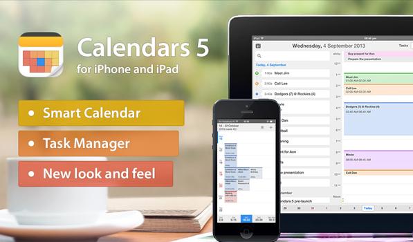 Calendars 5 is an Elegant Calendar for iOS