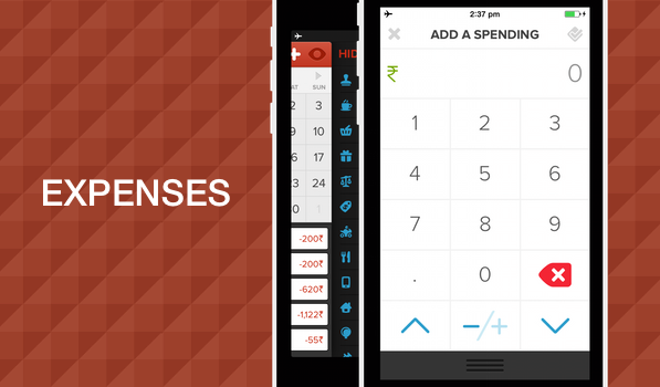 Expenses for iPhone is a Beautiful Personal Expense Tracking App