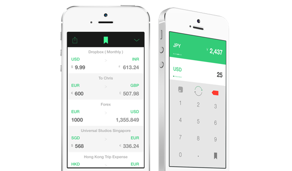 Stacks — Currency Converter for iPhone