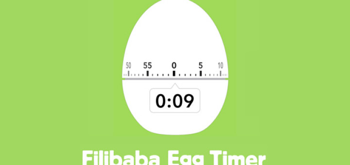 Filibaba Egg Timer • Beautiful Pixels