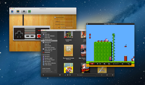OpenEmu – A Gorgeous App for Video Game Emulation on Mac