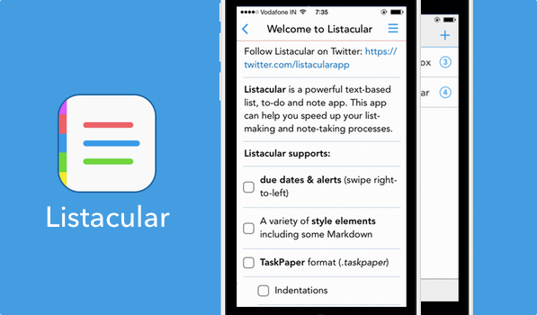 Listacular — One App for Your Lists, Notes & To-Dos