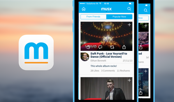 Musx Wants to Simplify Music Sharing on Your iPhone