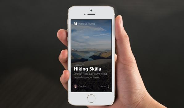 Medium for iPhone