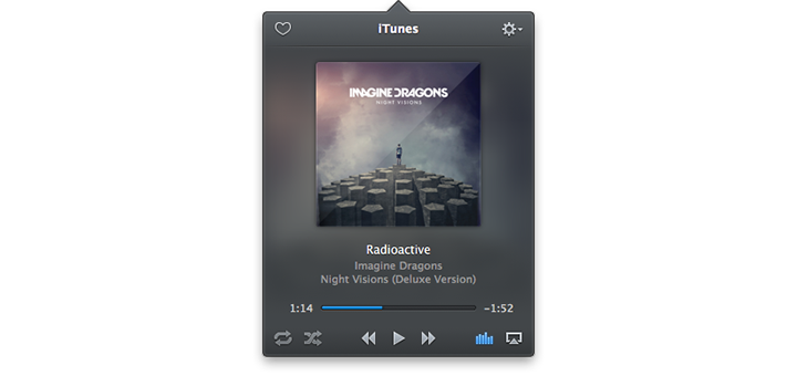 Equilibrium — A Mac App to Control your Music