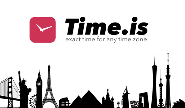 Find The Exact Time For Any Time Zone With Time.is For iPad