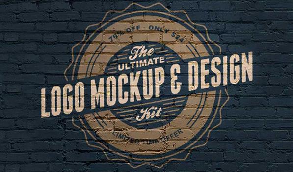 The Ultimate Logo Mock Up and Design Kit [Sponsor]