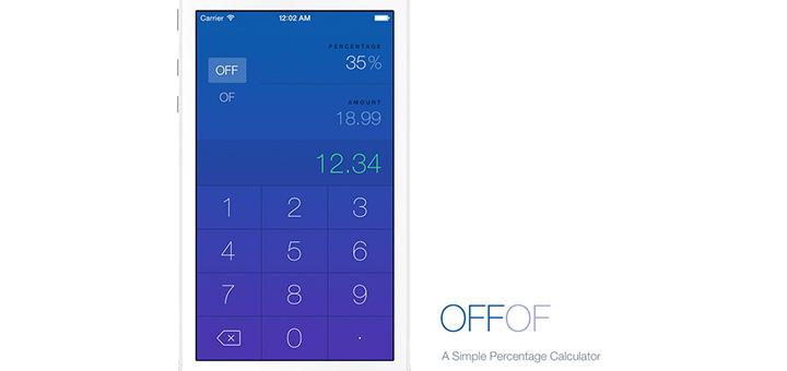 OffOf — Simple Percentage Calculator App