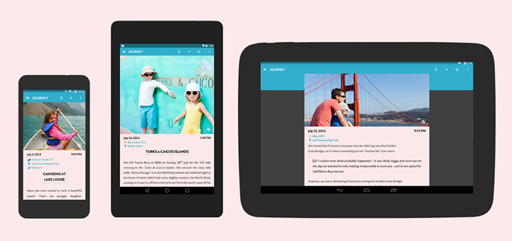 Journey For Android Kicks Off The Material Design Saga