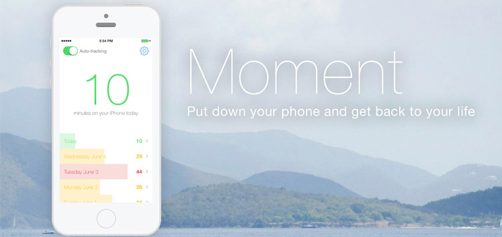 Moment Tracks How Much You Use Your iPhone
