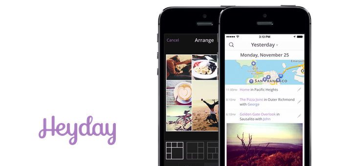 Heyday Is Your Personal Timeline