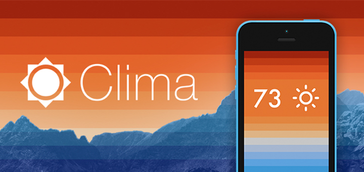 Clima for iPhone