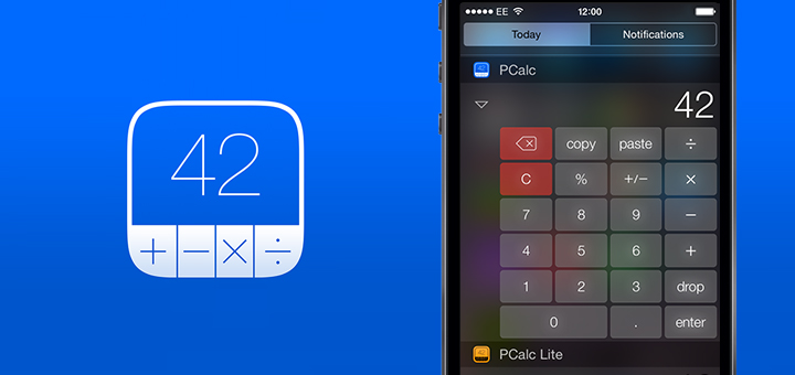 PCalc 3.3 for iOS 8