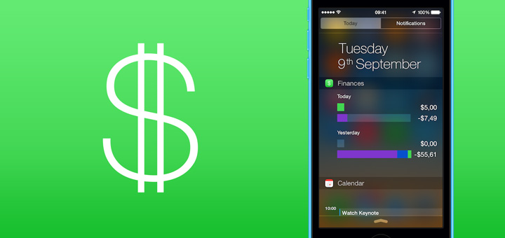 My Finances Adds Today Widget & iPhone 6 Support