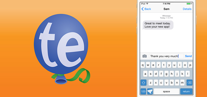 TextExpander 3 Brings a Custom Keyboard to iOS 8
