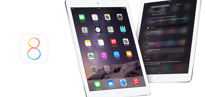 The State of iOS 8 on the iPad