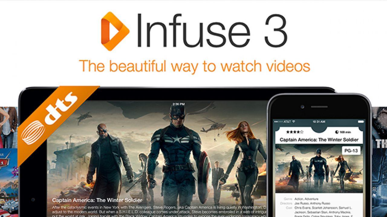 Infuse 3 for iOS • Beautiful Pixels