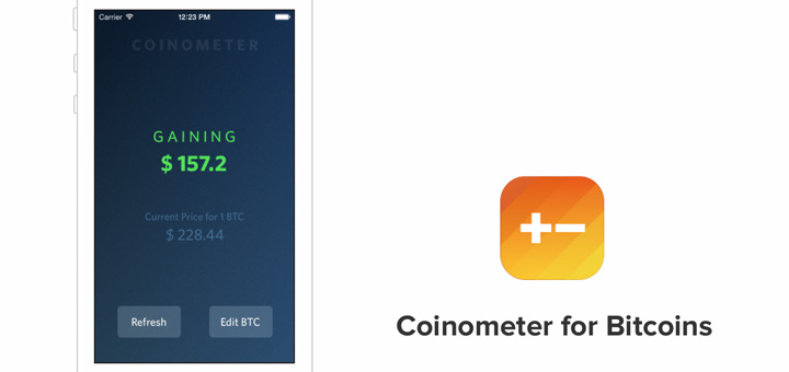 Coinometer Coins Bitcoin Value Tracker For Iphone Ipad