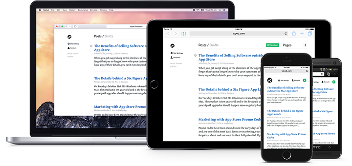 Typed — A Better Blogging Platform