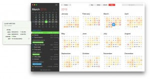 Fantastical 2's Main Window
