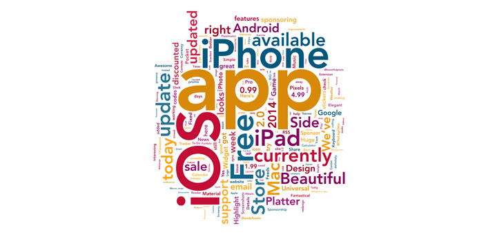 Wowed Creates Beautiful Word Clouds on your iPhone