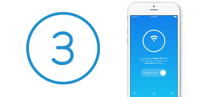 Cloak 3.0 for iOS