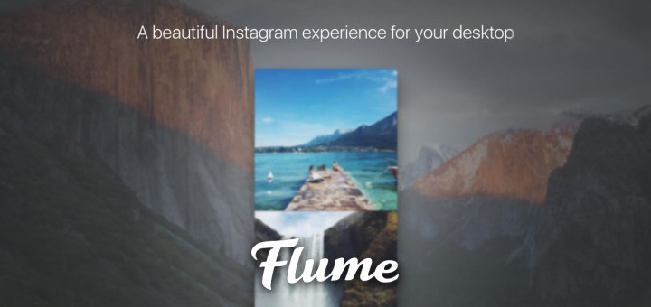 Flume Instagram App for Mac