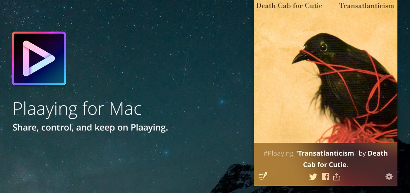 Plaaying for Mac