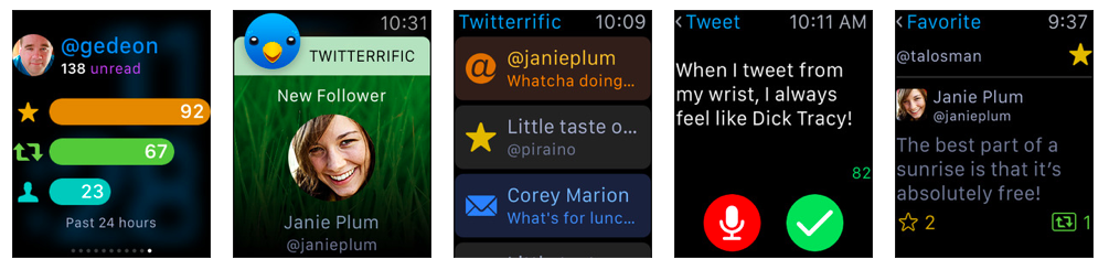 Twitterrific for Apple Watch