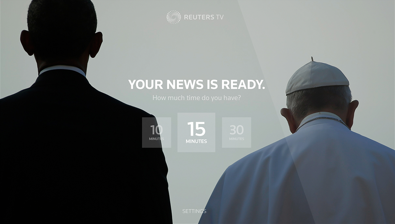 Reuters TV for Apple TV