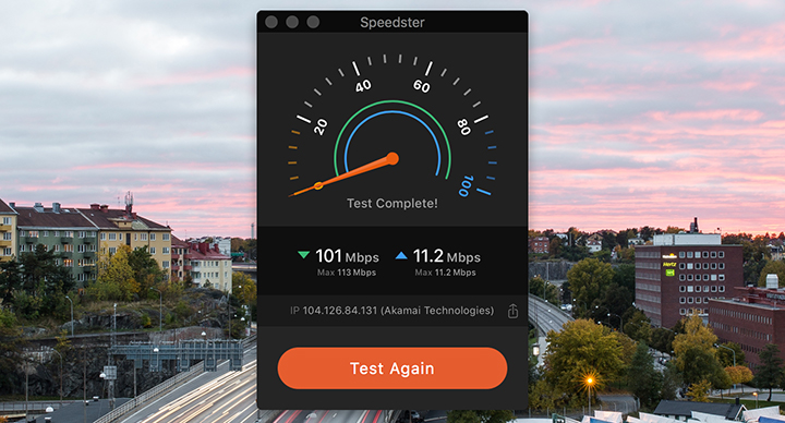 Speedster — Native Speed Testing App for Mac • Beautiful Pixels