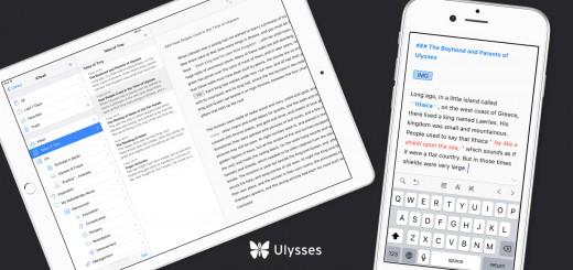 Ulysses Mobile iPad iPhone