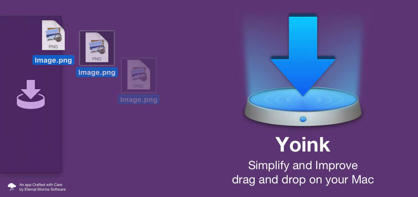 Yoink — Simplify And Improve Drag and Drop on your Mac [Sponsor]
