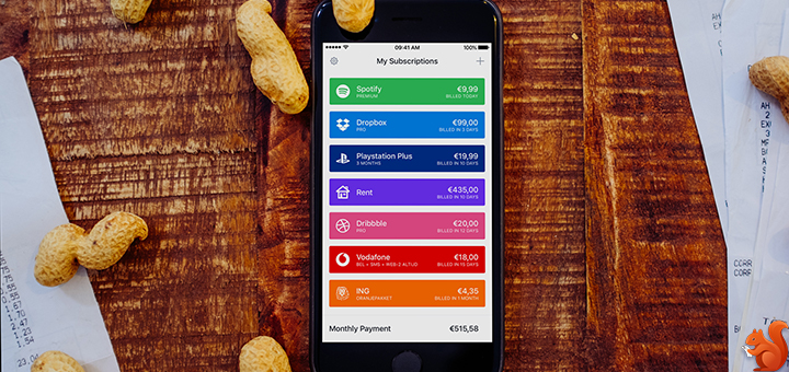 Keep Track of your Subscriptions with Billy
