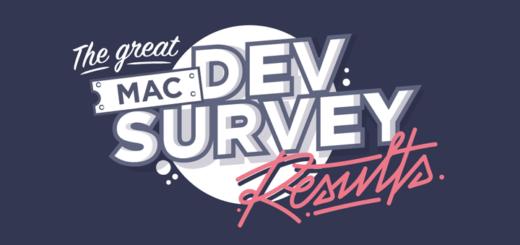 The Great Mac Dev Survey Results