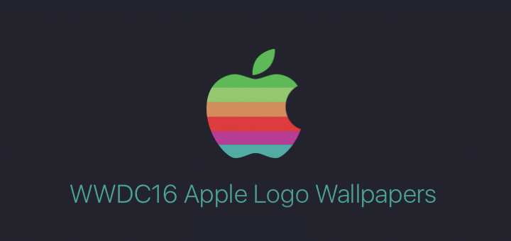 WWDC 2016 Themed Apple Logo Wallpapers