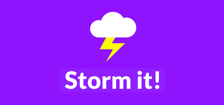 Storm It for Tweetstorms on Twitter
