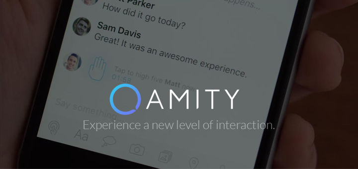 Amity — An Interactive Chat App for iOS and Android